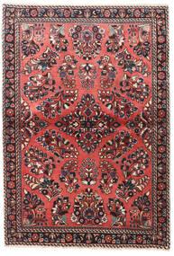 Sarough Szőnyeg 100X145 Keleti Csomózású Sötétpiros/Sötétbarna (Gyapjú, Perzsia/Irán)