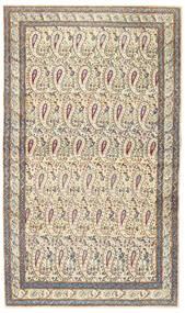 Kerman Patina Szőnyeg 85X147 Keleti Csomózású Bézs/Világosszürke (Gyapjú, Perzsia/Irán)