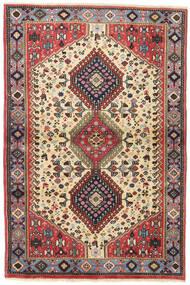 Yalameh Szőnyeg 98X147 Keleti Csomózású Sötétpiros/Sötétbarna (Gyapjú, Perzsia/Irán)