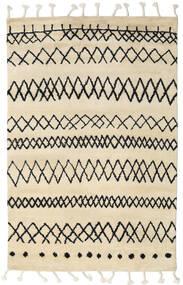 Beni Berber Szőnyeg 180X275 Modern Csomózású Bézs/Sötétszürke (Gyapjú, India)