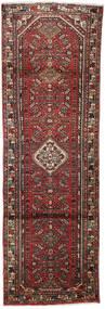 Hamadán Szőnyeg 82X262 Keleti Csomózású Sötétpiros/Sötétbarna (Gyapjú, Perzsia/Irán)