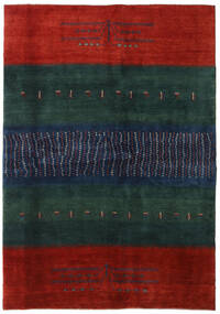 Gabbeh Perzsa Szőnyeg 169X240 Modern Csomózású Sötétkék/Rozsdaszín (Gyapjú, Perzsia/Irán)