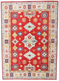 Kazak Szőnyeg 168X236 Keleti Csomózású Bézs/Piros (Gyapjú, Pakisztán )
