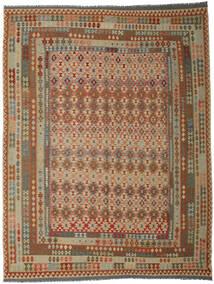 Kilim Afgán Old Style Szőnyeg 300X393 Keleti Kézi Szövésű Barna/Világosbarna Nagy (Gyapjú, Afganisztán)