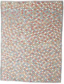 Kilim Afgán Old Style Szőnyeg 167X225 Keleti Kézi Szövésű Világosszürke/Bézs (Gyapjú, Afganisztán)