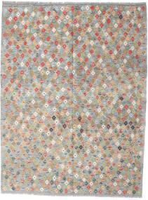 Kilim Afgán Old Style Szőnyeg 179X234 Keleti Kézi Szövésű Világosszürke (Gyapjú, Afganisztán)