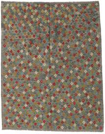 Kilim Afgán Old Style Szőnyeg 181X232 Keleti Kézi Szövésű Sötétszürke/Olívazöld (Gyapjú, Afganisztán)