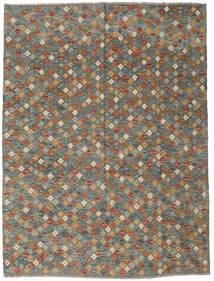 Kilim Afgán Old Style Szőnyeg 176X234 Keleti Kézi Szövésű Sötétszürke/Világosszürke (Gyapjú, Afganisztán)