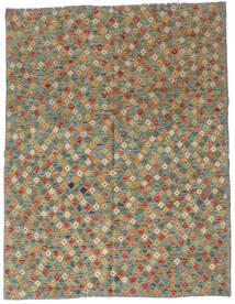 Kilim Afgán Old Style Szőnyeg 179X229 Keleti Kézi Szövésű Olívazöld/Sötétszürke (Gyapjú, Afganisztán)