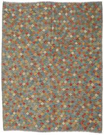 Kilim Afgán Old Style Szőnyeg 178X228 Keleti Kézi Szövésű Sötétszürke/Olívazöld/Világosszürke (Gyapjú, Afganisztán)