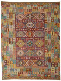 Kilim Afgán Old Style Szőnyeg 265X347 Keleti Kézi Szövésű Sötétbarna/Világosbarna Nagy (Gyapjú, Afganisztán)