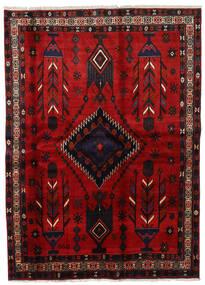 Afshar Szőnyeg 177X246 Keleti Csomózású Sötétpiros/Rozsdaszín (Gyapjú, Perzsia/Irán)