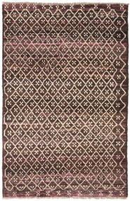 Moroccan Berber - Afghanistan Szőnyeg 115X175 Modern Csomózású Sötétbarna/Sötétpiros (Gyapjú, Afganisztán)