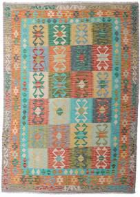 Kilim Afgán Old Style Szőnyeg 183X258 Keleti Kézi Szövésű Világosszürke/Világosbarna (Gyapjú, Afganisztán)