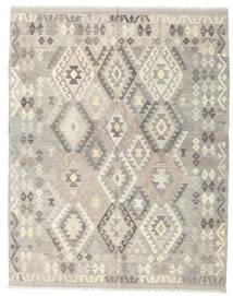 Kilim Afgán Old Style Szőnyeg 185X235 Keleti Kézi Szövésű Világosszürke/Bézs (Gyapjú, Afganisztán)