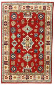 Kazak Szőnyeg 118X187 Keleti Csomózású Rozsdaszín/Barna (Gyapjú, Afganisztán)