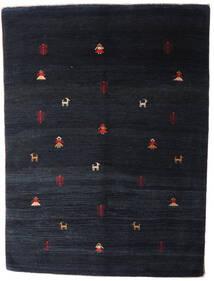 Gabbeh Rustic Szőnyeg 204X275 Modern Csomózású Sötétkék (Gyapjú, Perzsia/Irán)