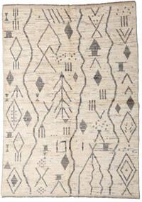 Moroccan Berber - Afghanistan Szőnyeg 167X234 Modern Csomózású Világosszürke/Bézs (Gyapjú, Afganisztán)