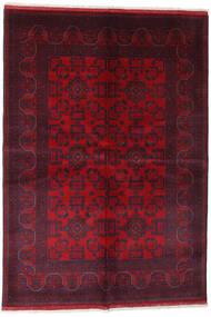 Afgán Khal Mohammadi Szőnyeg 162X234 Keleti Csomózású Sötétpiros/Piros (Gyapjú, Afganisztán)