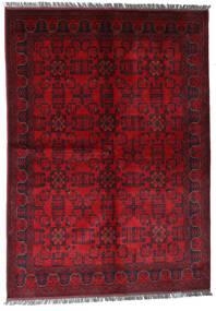 Afgán Khal Mohammadi Szőnyeg 170X240 Keleti Csomózású Sötétpiros/Piros (Gyapjú, Afganisztán)