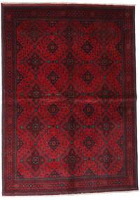 Afgán Khal Mohammadi Szőnyeg 168X232 Keleti Csomózású Sötétpiros/Piros (Gyapjú, Afganisztán)