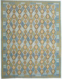 Kilim Afgán Old Style Szőnyeg 304X393 Keleti Kézi Szövésű Világosbarna/Türkiz Kék Nagy (Gyapjú, Afganisztán)
