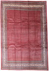 Sarough Mir Szőnyeg 250X366 Keleti Csomózású Piros/Világos Rózsaszín Nagy (Gyapjú, Perzsia/Irán)