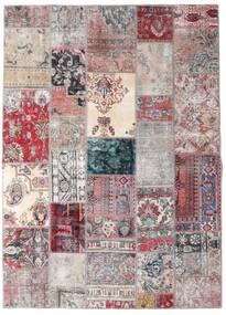 Patchwork - Persien/Iran Szőnyeg 173X242 Modern Csomózású Világosszürke/Világoslila (Gyapjú, Perzsia/Irán)