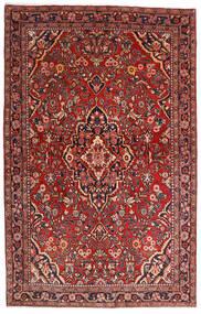 Sarough Sherkat Farsh Szőnyeg 132X208 Keleti Csomózású Sötétpiros/Sötétbarna (Gyapjú, Perzsia/Irán)