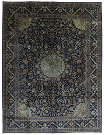 Kashmar Szőnyeg 290X384 Keleti Csomózású Fekete/Sötétbarna Nagy (Gyapjú, Perzsia/Irán)