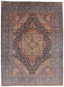 Kerman Szőnyeg 280X376 Keleti Csomózású Sötétpiros/Világosszürke Nagy (Gyapjú, Perzsia/Irán)