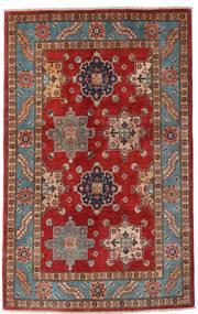 Kazak Szőnyeg 118X188 Keleti Csomózású Sötétpiros/Sötétbarna (Gyapjú, Afganisztán)