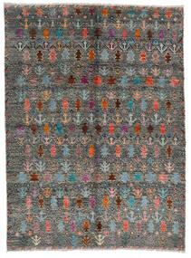 Moroccan Berber - Afghanistan Szőnyeg 170X240 Modern Csomózású Sötétszürke/Világosszürke (Gyapjú, Afganisztán)