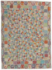Kilim Afgán Old Style Szőnyeg 173X232 Keleti Kézi Szövésű Világosszürke/Sötétszürke (Gyapjú, Afganisztán)