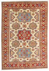 Kazak Szőnyeg 201X288 Keleti Csomózású Világosbarna/Rozsdaszín (Gyapjú, Afganisztán)