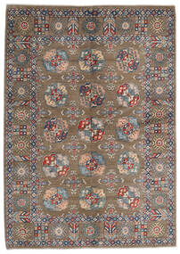 Kazak Szőnyeg 165X231 Keleti Csomózású Világosszürke/Világosbarna (Gyapjú, Afganisztán)