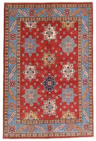 Kazak Szőnyeg 158X237 Keleti Csomózású Sötétpiros/Rozsdaszín (Gyapjú, Afganisztán)
