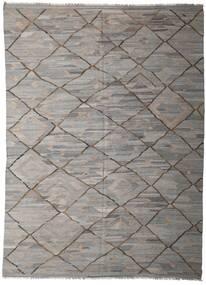 Kilim Ariana Szőnyeg 253X342 Modern Kézi Szövésű Világosszürke/Sötétszürke Nagy (Gyapjú, Afganisztán)