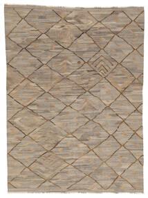 Kilim Ariana Szőnyeg 254X340 Modern Kézi Szövésű Világosszürke/Sötétszürke Nagy (Gyapjú, Afganisztán)
