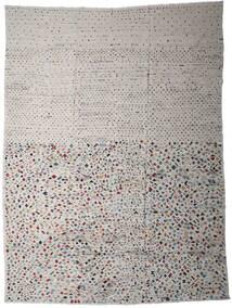 Kilim Modern Szőnyeg 290X389 Modern Kézi Szövésű Világosszürke/Sötétszürke Nagy (Gyapjú, Afganisztán)