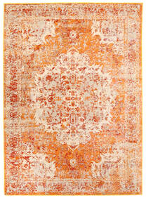 Nadine - Narancssárga Szőnyeg 160X230 Modern Világos Rózsaszín/Sötét Bézs ( Törökország)