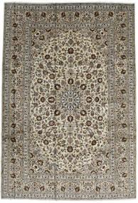 Kashan Szőnyeg 246X357 Keleti Csomózású Sötétbarna/Fekete (Gyapjú, Perzsia/Irán)