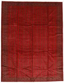 Turkaman Szőnyeg 302X388 Keleti Csomózású Rozsdaszín/Sötétpiros Nagy (Gyapjú, Perzsia/Irán)