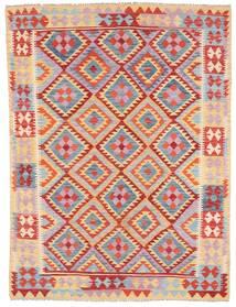 Kilim Afgán Old Style Szőnyeg 179X240 Keleti Kézi Szövésű Világoslila/Világosbarna (Gyapjú, Afganisztán)