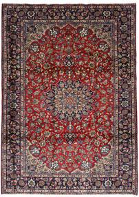 Najafabad Szőnyeg 251X348 Keleti Csomózású Sötétpiros/Sötétbarna Nagy (Gyapjú, Perzsia/Irán)
