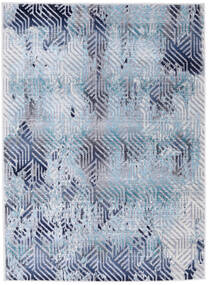 Rima - Teal Szőnyeg 142X206 Modern Világoskék/Világoslila ( Törökország)