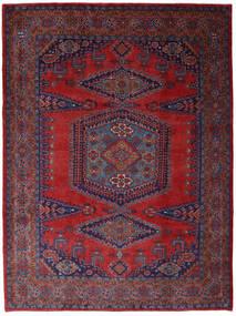 Wiss Szőnyeg 253X344 Keleti Csomózású Sötétpiros/Sötétlila Nagy (Gyapjú, Perzsia/Irán)