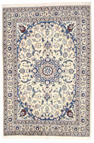 Nain Szőnyeg 164X240 Keleti Csomózású Világosszürke/Bézs (Gyapjú, Perzsia/Irán)