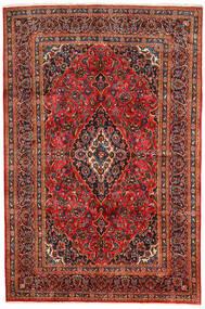 Kashan Szőnyeg 190X290 Keleti Csomózású Sötétbarna/Rozsdaszín (Gyapjú, Perzsia/Irán)