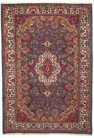 Kerman Szőnyeg 204X296 Keleti Csomózású Sötétpiros/Sötétszürke (Gyapjú, Perzsia/Irán)